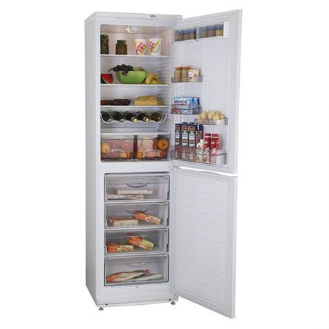 Вместимость Холодильник ATLANT ХМ 6025-031
